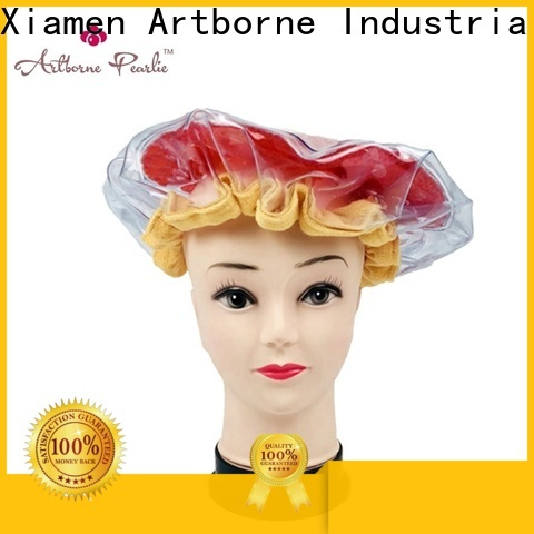 Artborne latest hot head deep conditioning thermal heat cap suppliers for lady