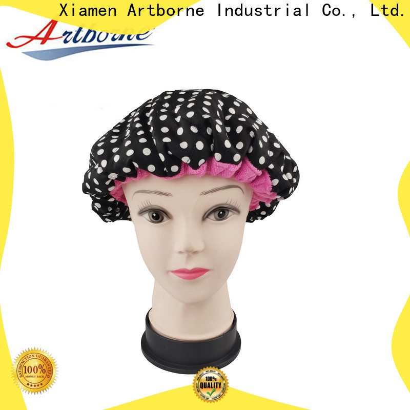 Artborne steam thermal conditioning heat cap for business for lady