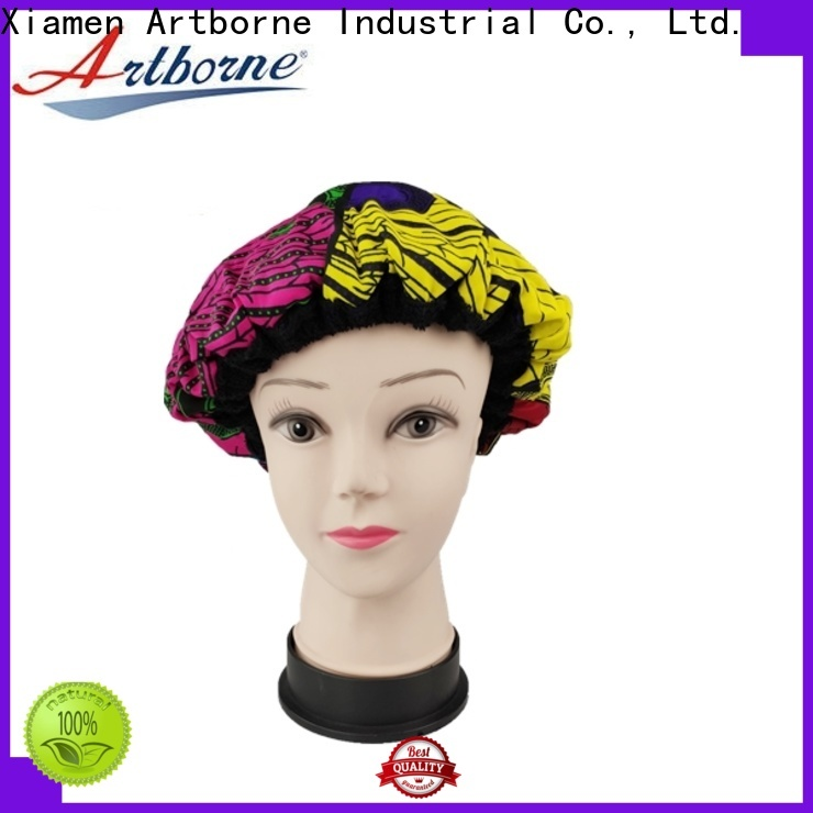 Artborne steaming satin lined bonnet supply for lady