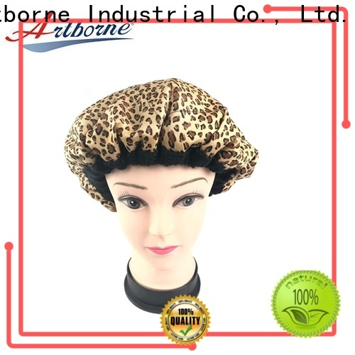 custom thermal hot head deep conditioning cap hat suppliers for hair