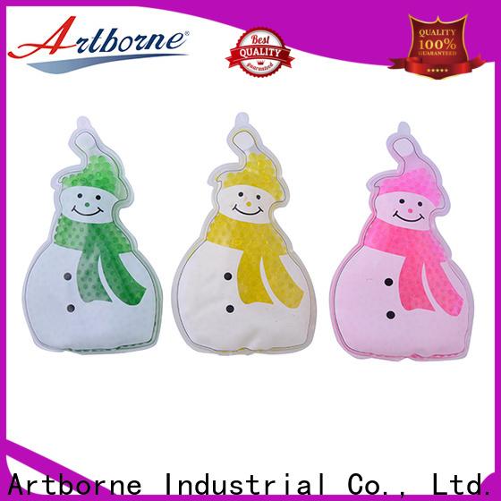Artborne tired reusable gel packs supply for back