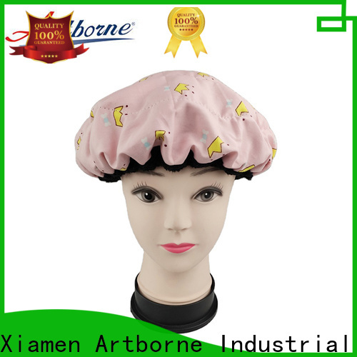 Artborne New thermal heat cap for conditioning treatments for business for hair