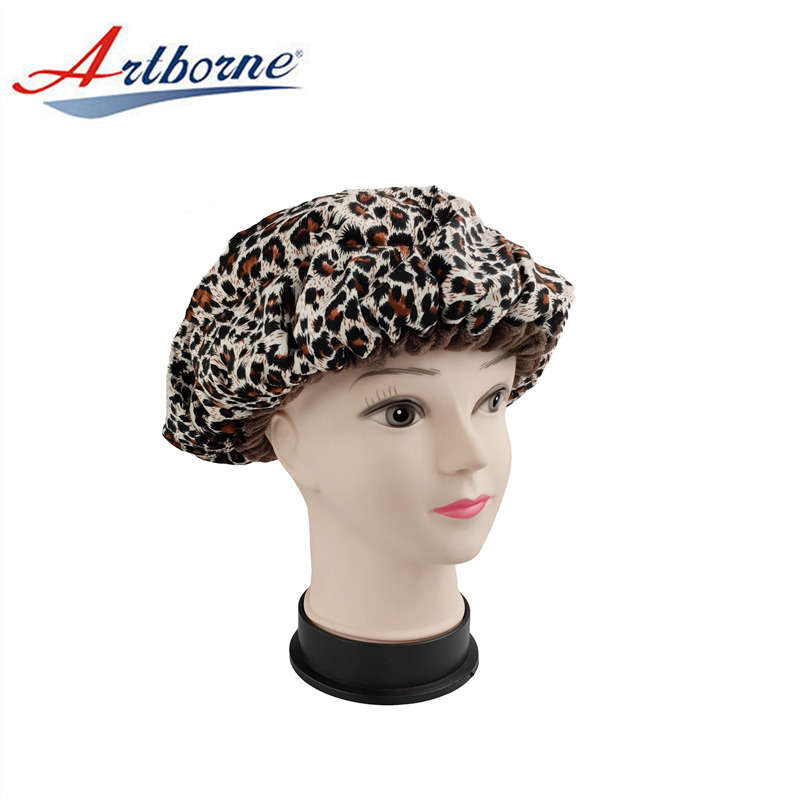 Cordless Deep Conditioning Heat Linseed Cap Reusable Condition Hair Mask Heat Therapy Cordless Microwave Deep Heated Therapy Conditioning Microwavable Thermal Hair Cap