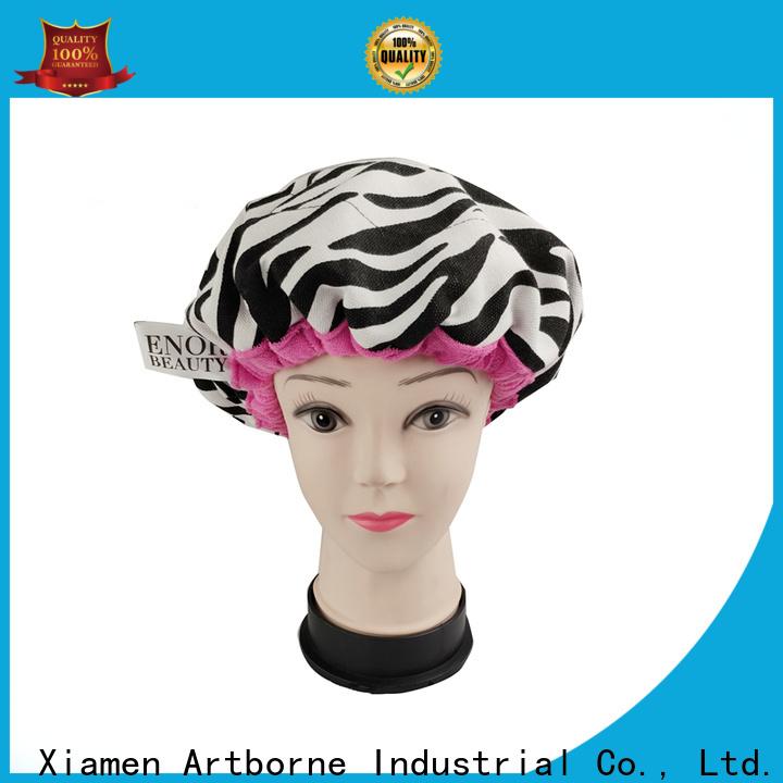 Artborne New satin hair cap factory for lady