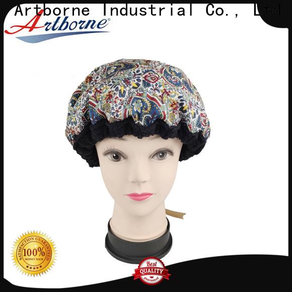 Artborne custom hot head deep conditioning heat cap company for shower