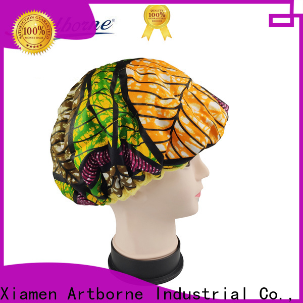 Artborne wholesale hot head thermal hair cap for business for women