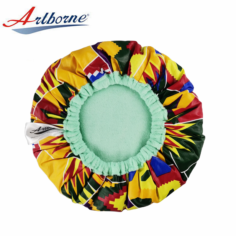 Artborne safe silk hair cap for business for women