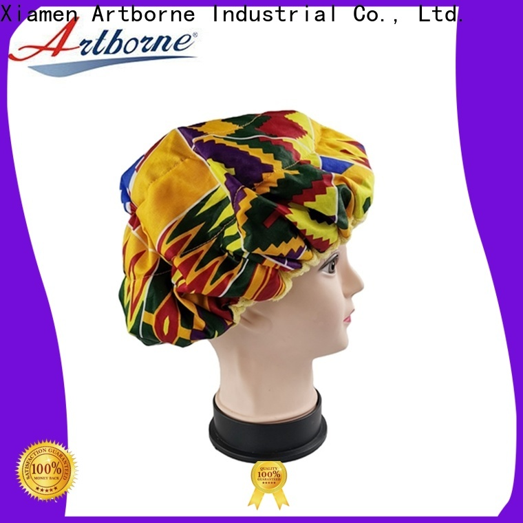 Artborne top thermal cap for hair treatment and deep conditioning company for lady
