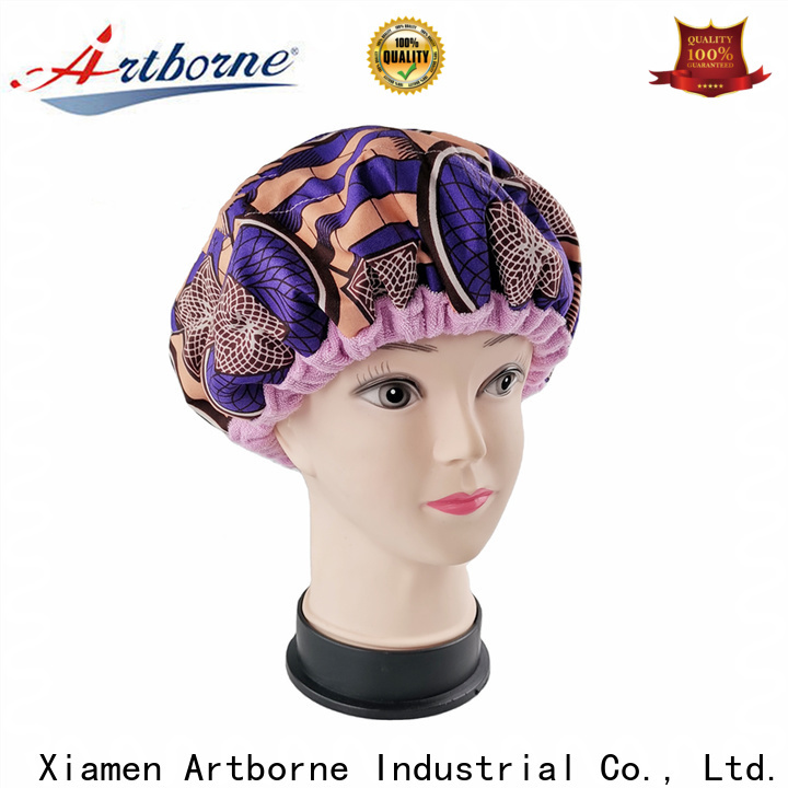 Artborne care best shower cap for deep conditioning factory for lady
