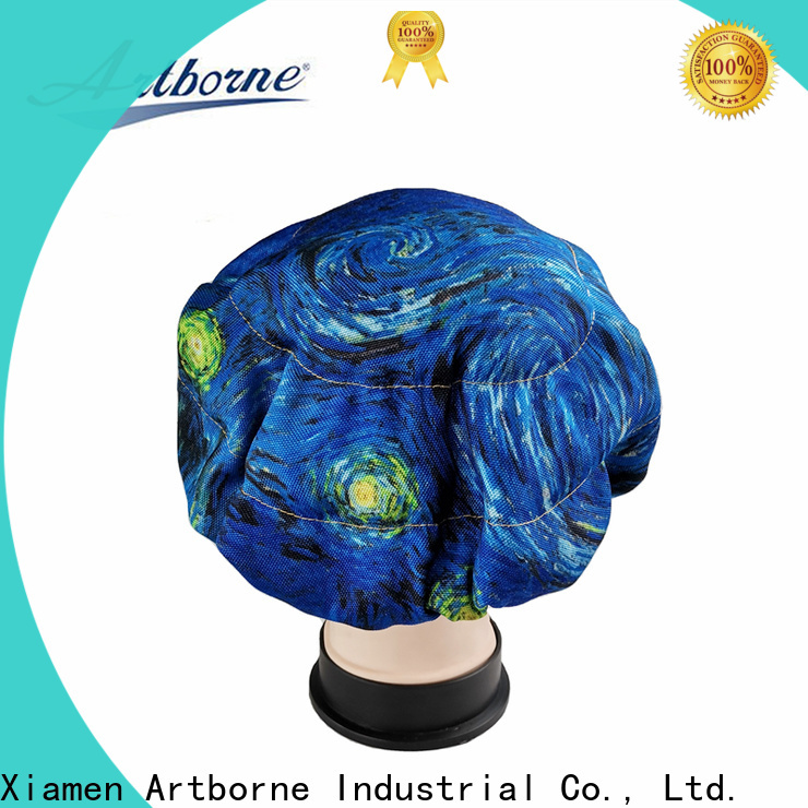 Artborne custom heat cap for deep conditioning supply for women
