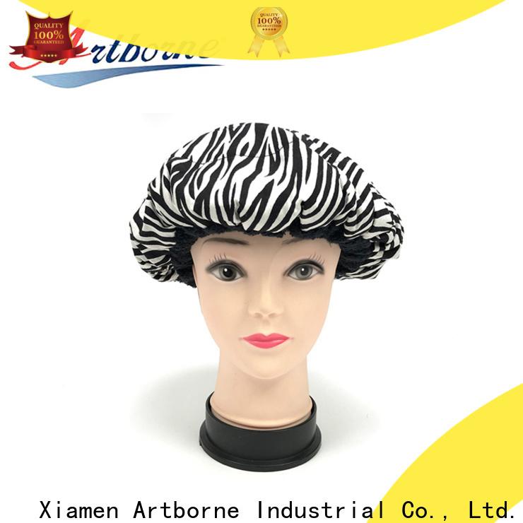 Artborne bonnet microwavable heat cap manufacturers for hair