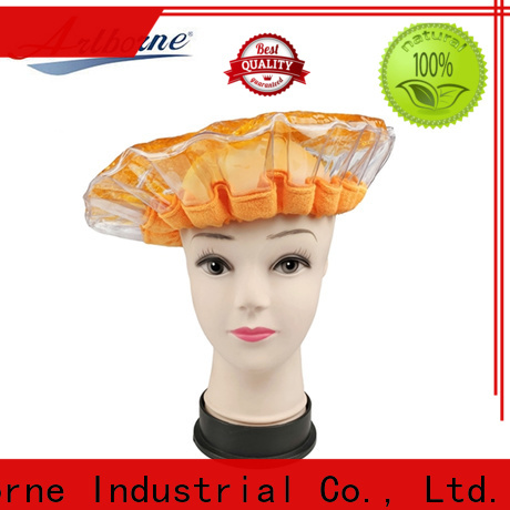 Artborne high-quality microwavable deep conditioning heat cap company for home