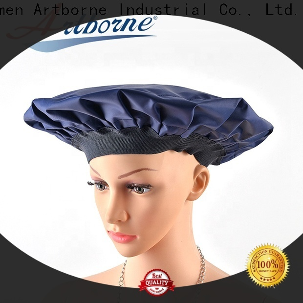 Artborne deep shower cap for deep conditioning company for lady