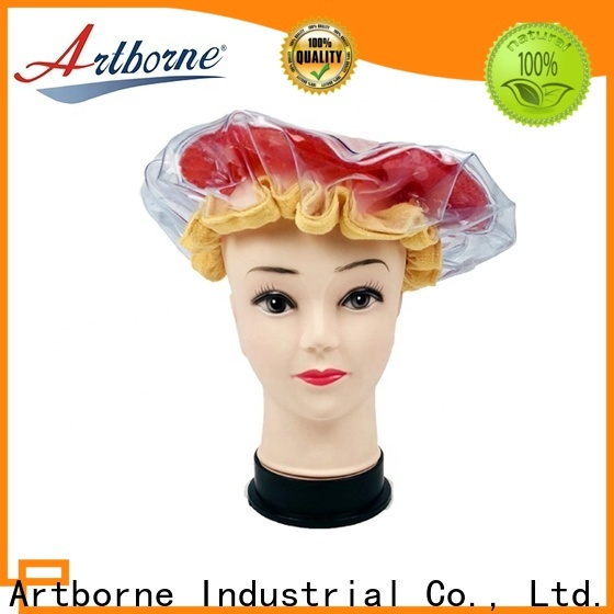 New hot head microwavable deep conditioning cap thermal factory for lady