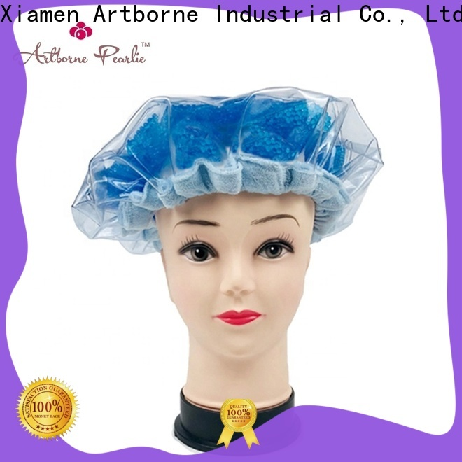 custom microwave heat cap thermal supply for lady