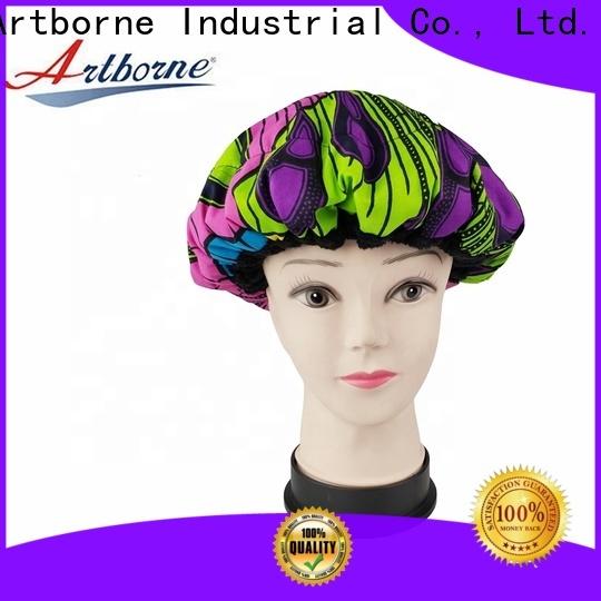 Artborne custom cordless conditioning heat cap supply for hair