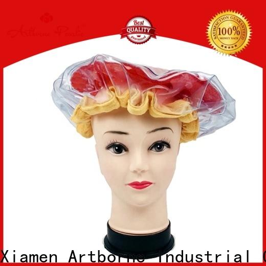 Artborne wholesale hot head microwavable deep conditioning heat cap manufacturers for women