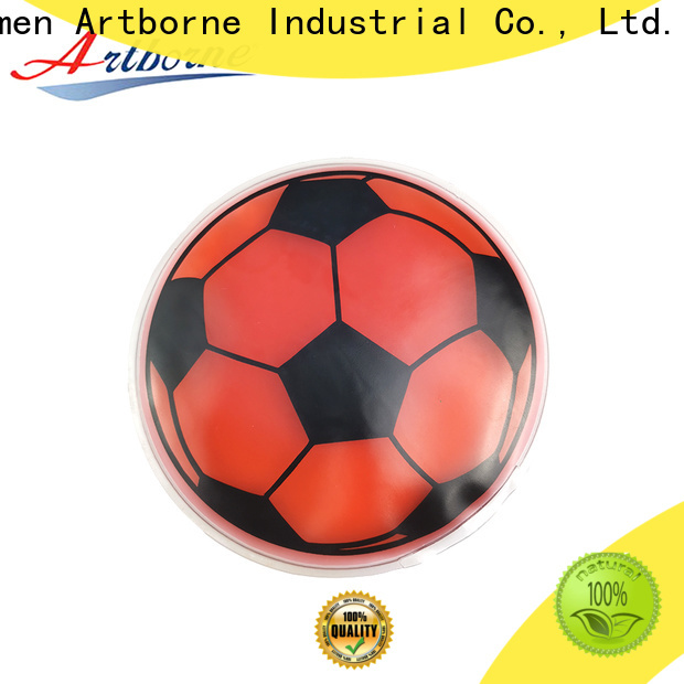 Artborne wholesale round reusable ice packs supply for muscle strain