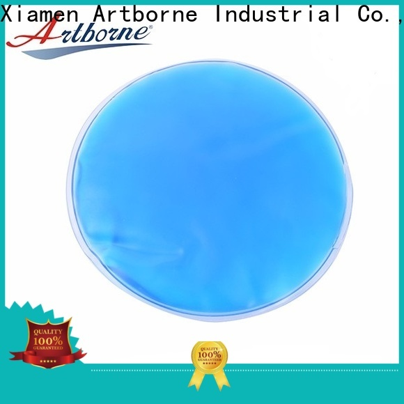 Artborne ski blue ice pack for business for face