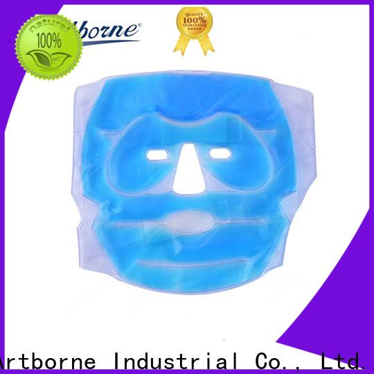 Artborne high-quality blue gel ice packs company for face