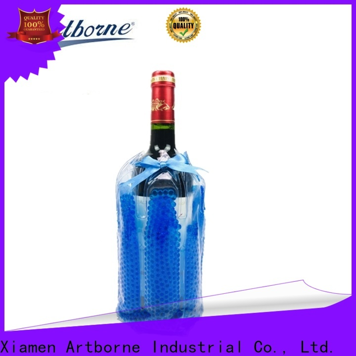 Artborne high-quality wine bottle cooler bag suppliers for food