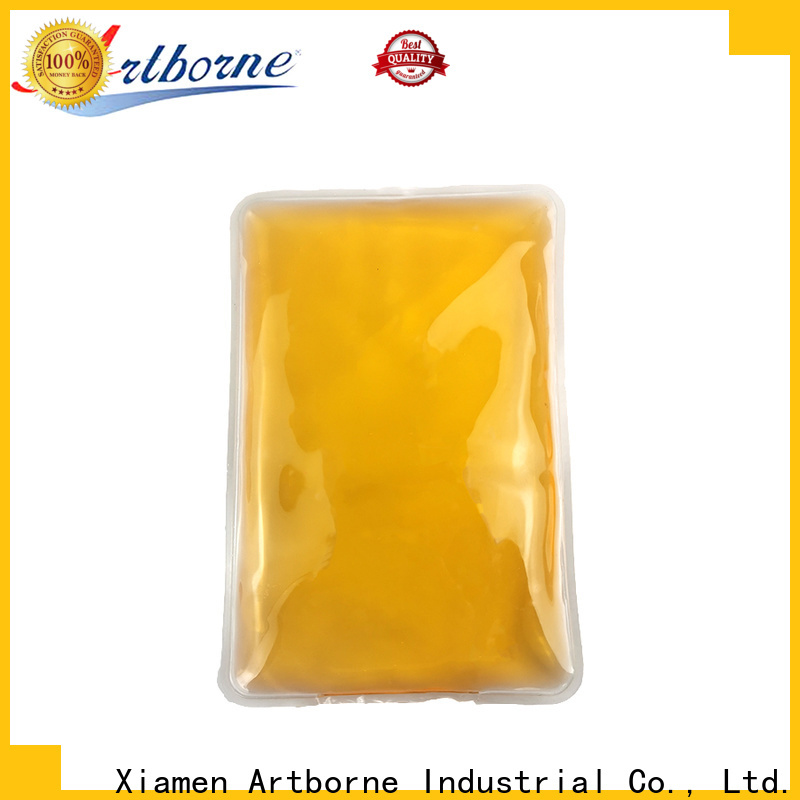Artborne wholesale gel ice packs for knees company for back pain