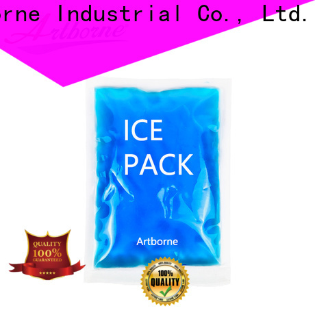 Artborne best blue gel ice pack supply for muscle strain
