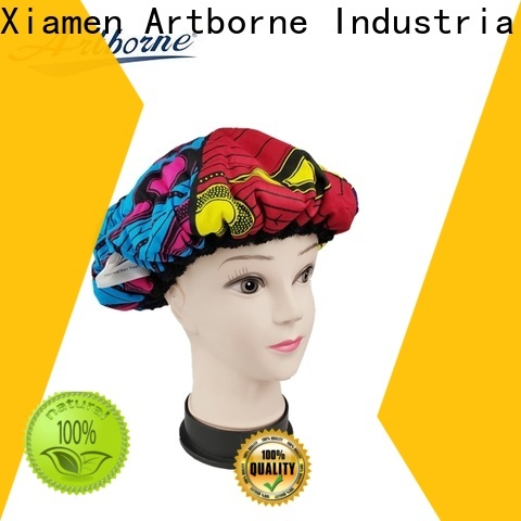 Artborne high-quality silk hair cap factory for women