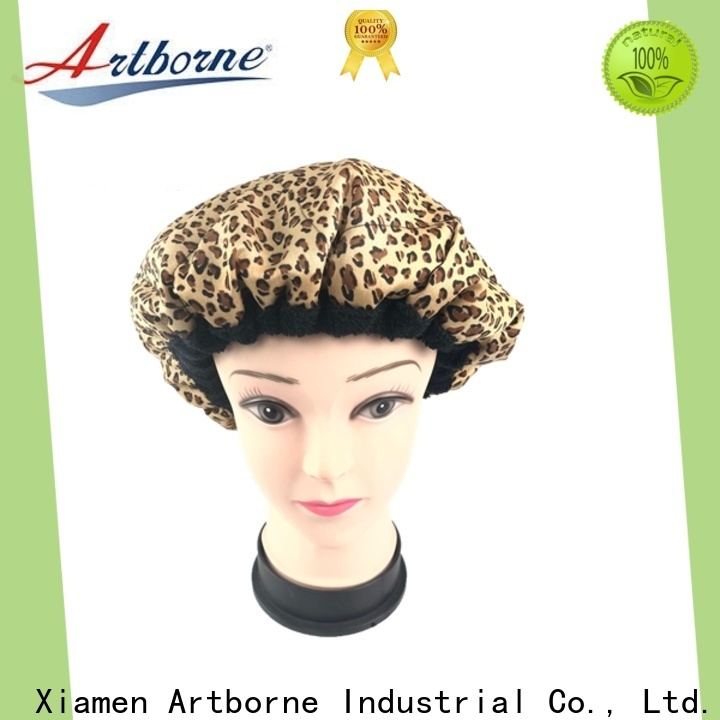Artborne heating hot head thermal conditioning cap for business for hair