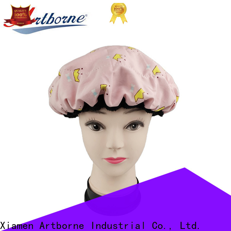 Artborne high-quality shower cap for women company for hair