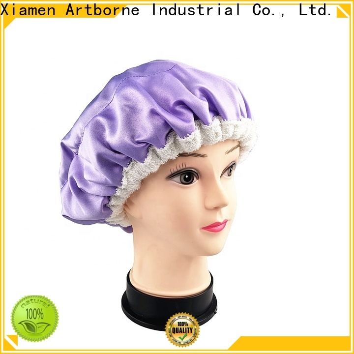 Artborne New hair cap for sleeping manufacturers for shower