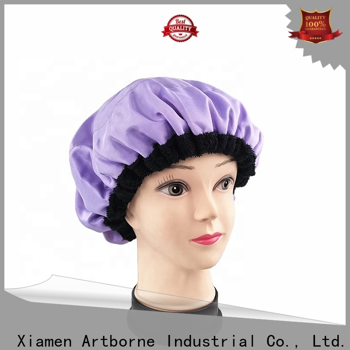 Artborne custom flaxseed hair cap suppliers for shower