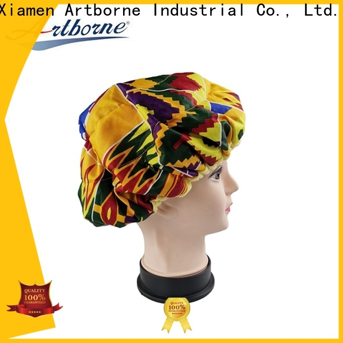 Artborne top best shower cap for deep conditioning supply for lady