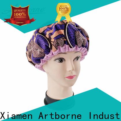 New satin hair cap cordless company for women