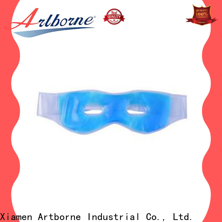 Artborne custom eye ice pack manufacturers for sleeping