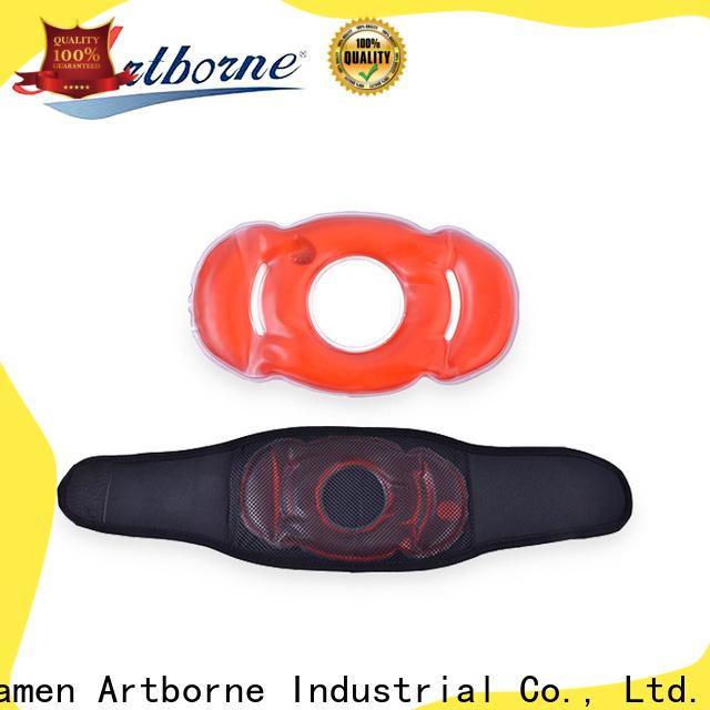 Artborne custom hot cold gel packs reusable for business for body