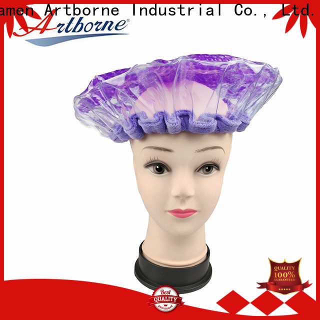 wholesale thermal hair care cap microwave company for hair
