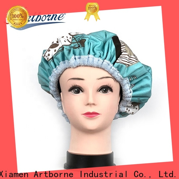 Artborne hat thermal hair care hot head deep conditioning cap manufacturers for hair