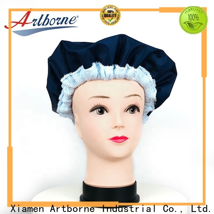 Artborne conditioning heated gel cap factory for shower