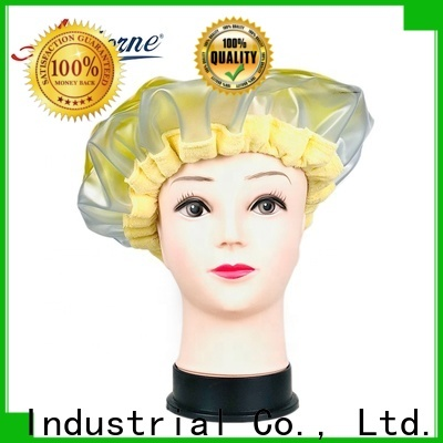 Artborne steaming thermal hair care deep conditioning heat cap supply for lady