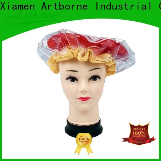 Artborne best microwavable conditioning cap company for lady