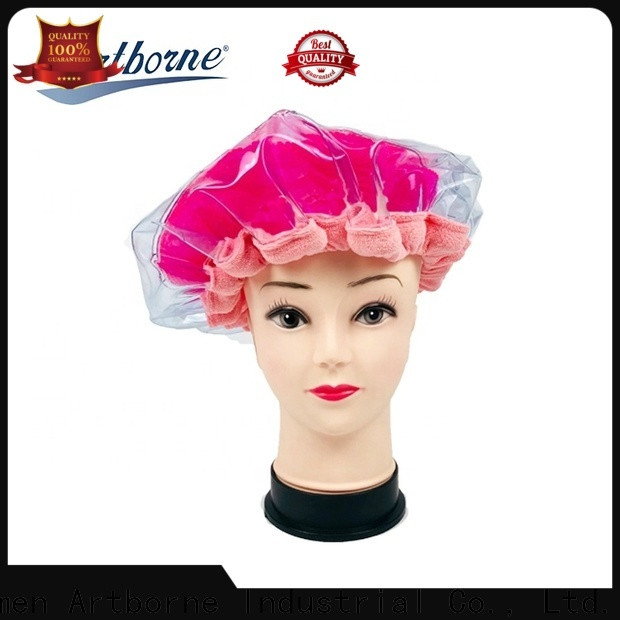 custom hot head deep conditioning thermal heat cap cordless supply for lady
