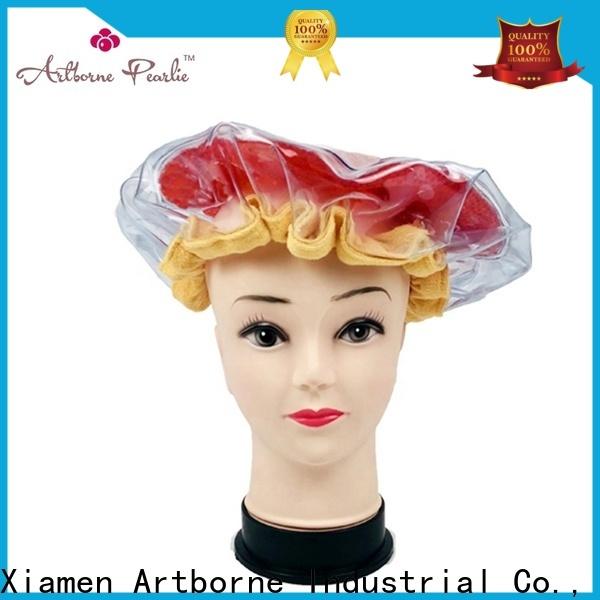 Artborne best microwave shower cap supply for lady