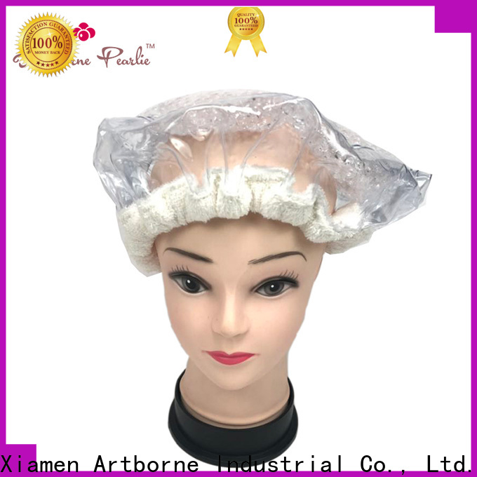 Artborne heat microwave hair conditioning cap suppliers for hair