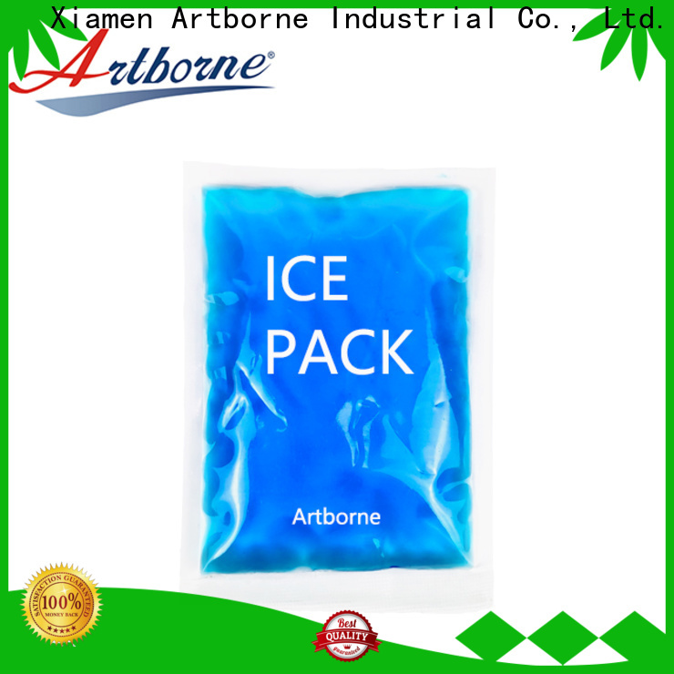 latest blue gel pack shaped for business for muscle strain