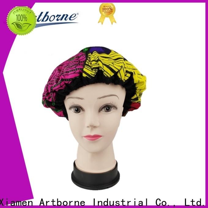 Artborne treatment silk hair cap factory for shower