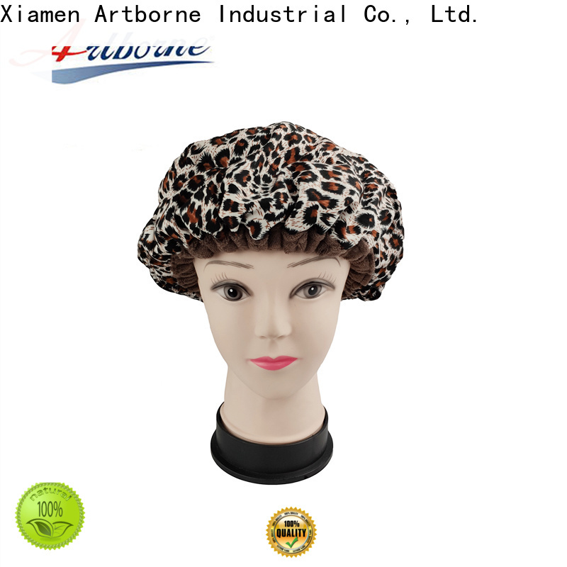 Artborne wholesale hot head thermal hair cap suppliers for lady