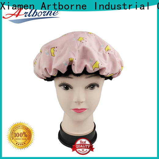 Artborne thermal flaxseed hair cap factory for home