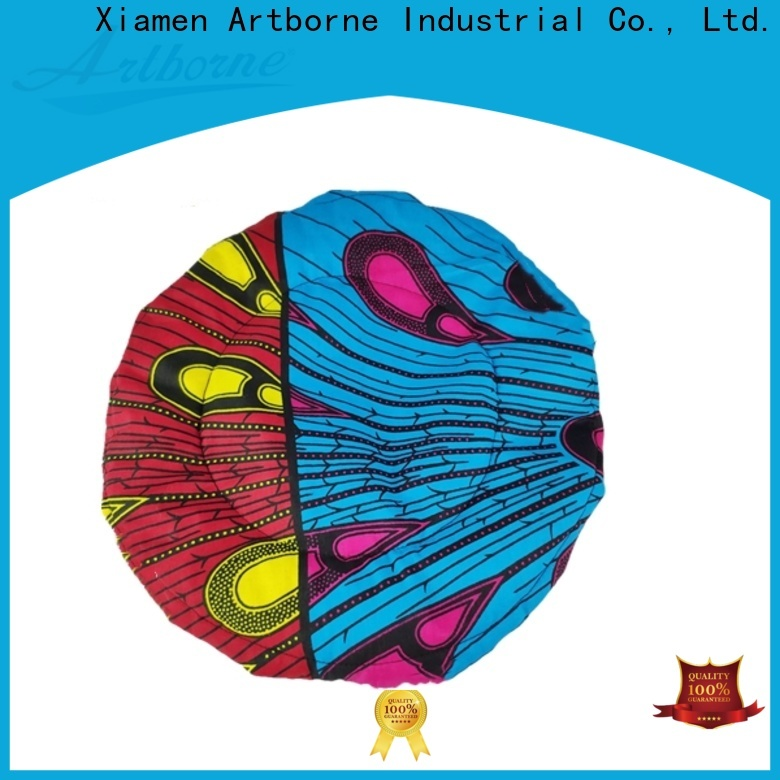 Artborne safe silk hair cap suppliers for hair