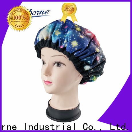 custom hot head deep conditioning heat cap curly manufacturers for shower